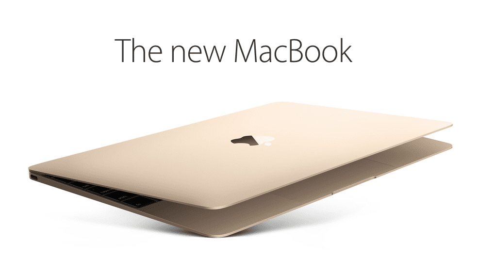 The New Gold MacBook
