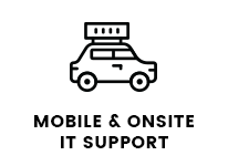mobile and on-site it support logo